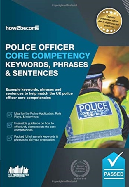 Police Officer Core Competency Keywords, Phrases & Sentences
