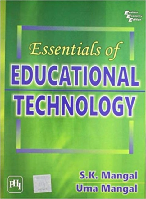 Essentials of Educational Technology