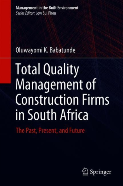 Total Quality Management of Construction Firms in South Africa