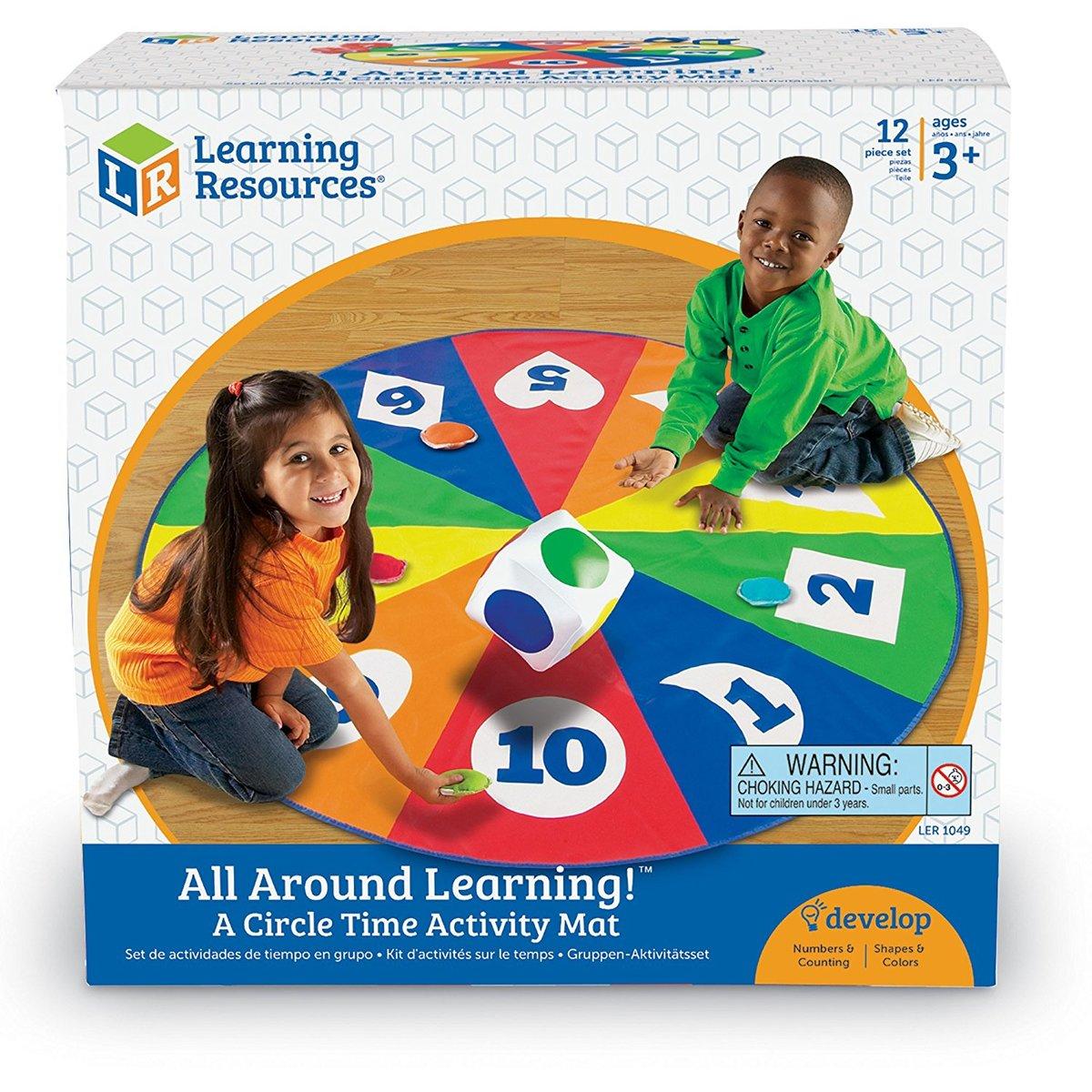 Joc forme, culori si numere All Around Learning