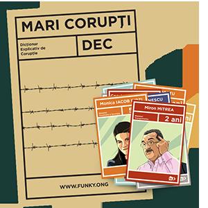 Mari Corupti - Board + 10 stickere