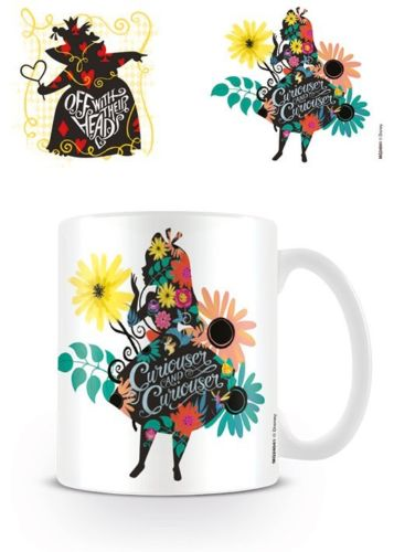 Alice in Wonderland Curiouser Mug