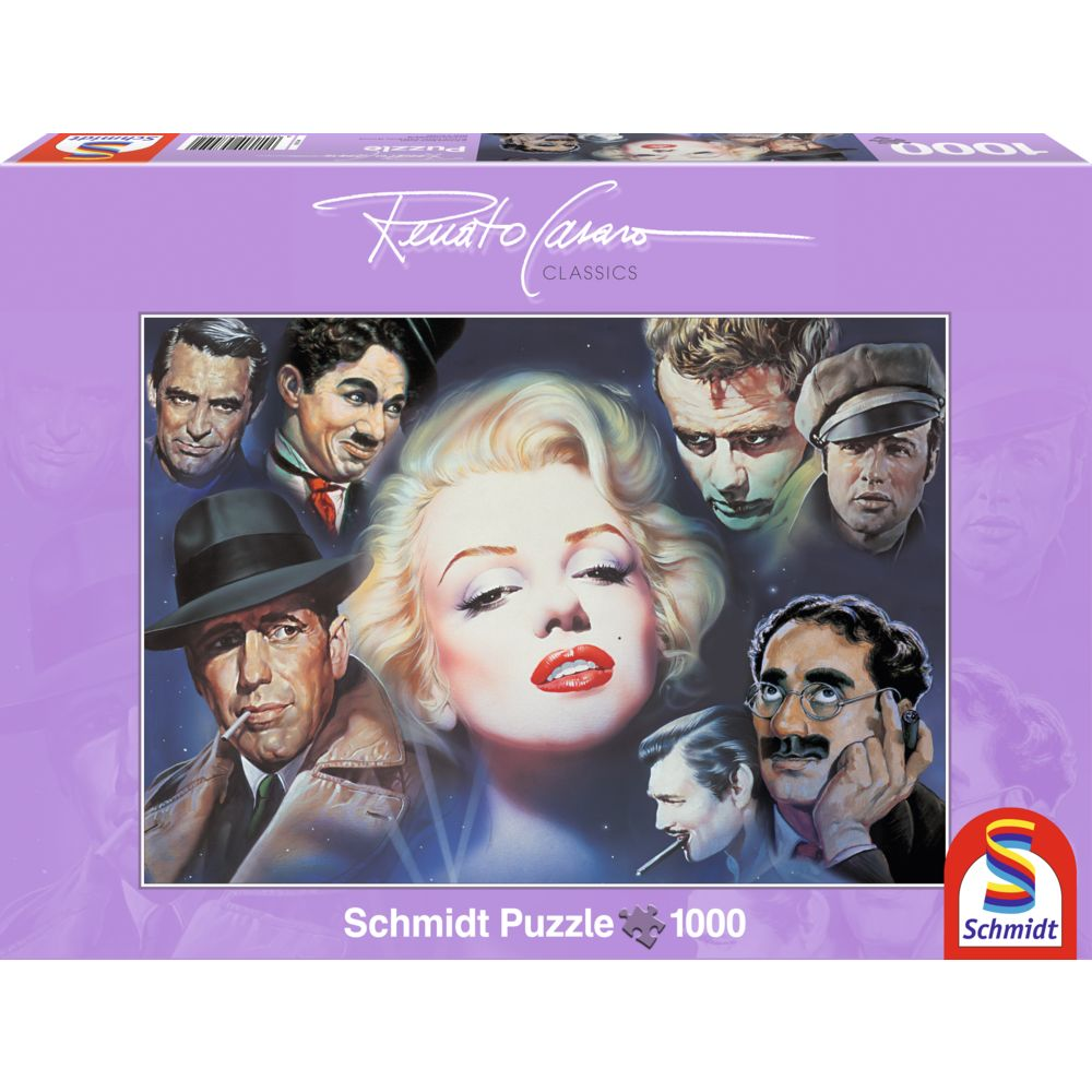 Puzzle 1000 piese Marilyn Monroe and Friends