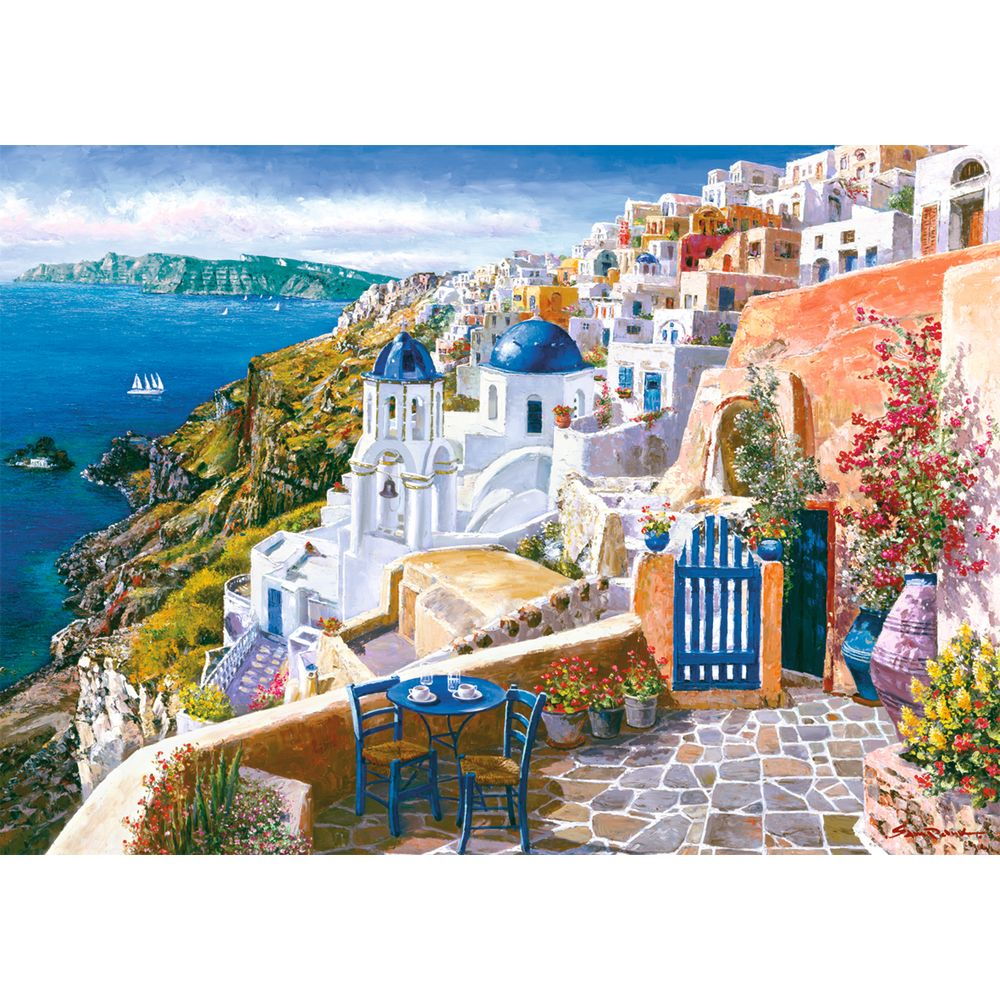 Puzzle 1000 piese View from Santorini